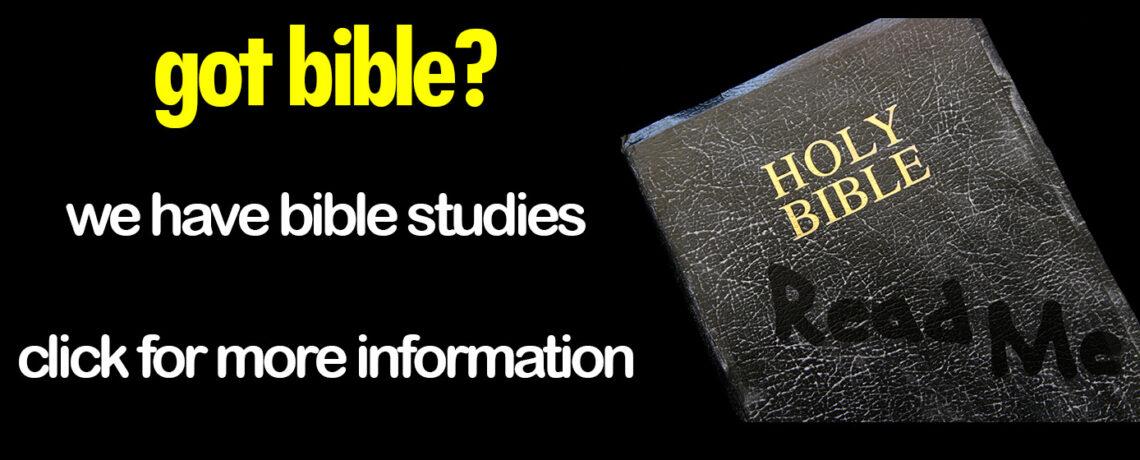 Personal Bible Studies